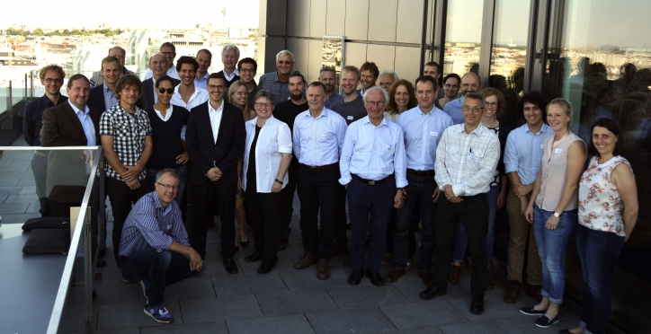 POWERSTEP partners at the 2nd General Assembly in Vienna.